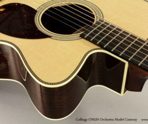 Collings OM2H Orchestra Model Cutaway