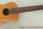 2013 Collings UC1 K Koa Concert Ukulele (SOLD)