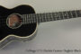 2012 Collings UT2 Ukulele Doghair Black (SOLD)
