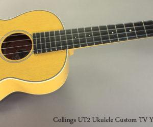 2012 Collings UC2 Ukulele TV Yellow