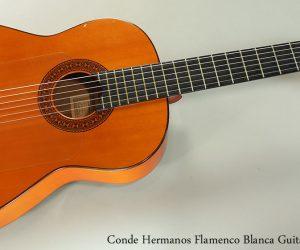 1988 Conde Hermanos Flamenco Blanca (SOLD)