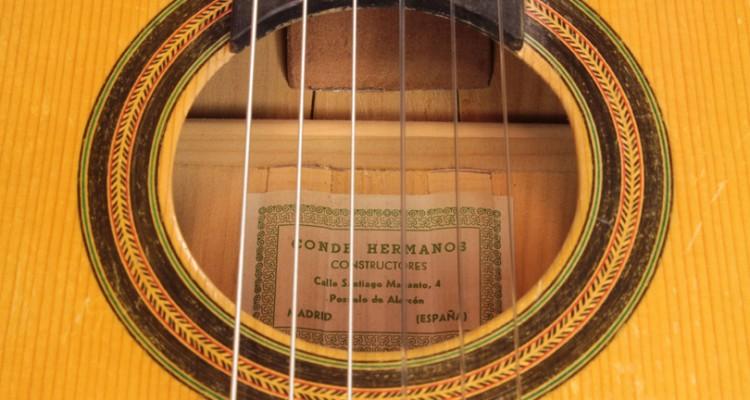 1962-Conde-Hermanos-Flamenco-Estudio-Guitar-label