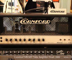 SOLD!!! 2000 Cornford MK50H Tube Amplifier Head