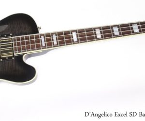 ❌SOLD❌  D'Angelico Excel SD Bass Grey Black, 2015