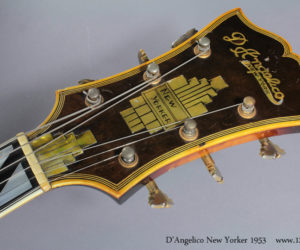 1953 D'Angelico New Yorker No Longer Available