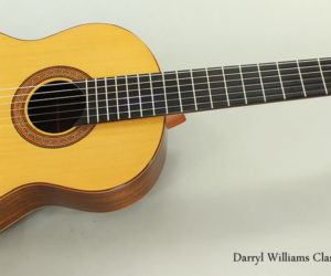 SOLD!  1975 Darryl Williams Classical Guitar