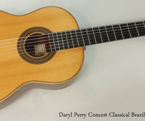 2002 Daryl Perry Concert Classical Brazilian  SOLD