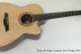 2001 DeJonge Cutaway Steel String  SOLD