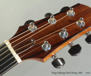 2001 Sergei deJonge Steel String (consignment)  SOLD