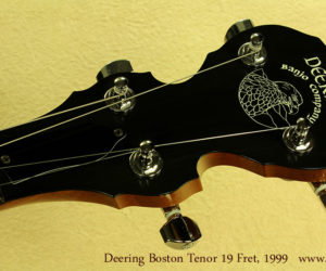 Deering Boston 19-Fret Tenor Banjo 1999  SOLD