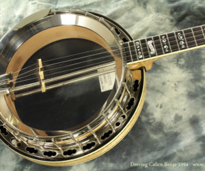 1994 Deering Calico Banjo SOLD