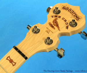 Deering Goodtime II Banjo 'The Crow' Package