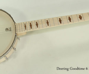 Deering Goodtime 6 String Banjo