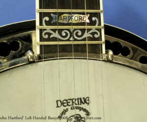 Deering John Hartford left-handed banjo 2008 (consignment) SOLD
