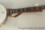 2016 Deering Sierra Maple Open Back Banjo  SOLD