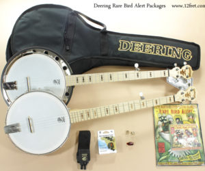 Deering Goodtime Rare Bird Alert Banjo Packages