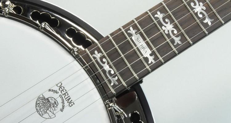 Deering-Sierra-Maple-5-String-Banjo-Inlay