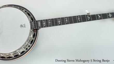 Deering-Sierra-Mahogany-5-String-Banjo-Full-Front-View