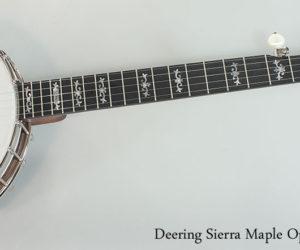 Deering Sierra Maple Openback Banjo