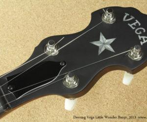 2013 Deering Vega Little Wonder Banjo SOLD