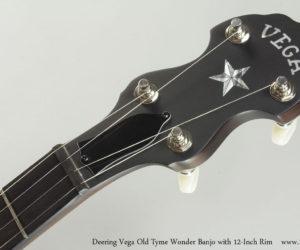 Deering Vega Old Tyme Wonder Open Back Banjo