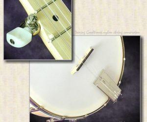 Deering Goodtime Open-back Banjo Gut String Conversion