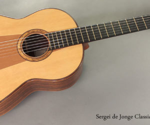 2010 Sergei de Jonge Classical Guitar NO LONGER AVAILABLE