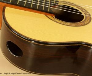 2010 Sergei de Jonge Classical Guitar (consignment)  SOLD