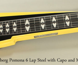Duesenberg Pomona 6 Lap Steel with Capo and Multi-Bender