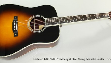 Eastman-E40D-SB-Dreadnought-Steel-String-Acoustic-Guitar-Full-Front-View
