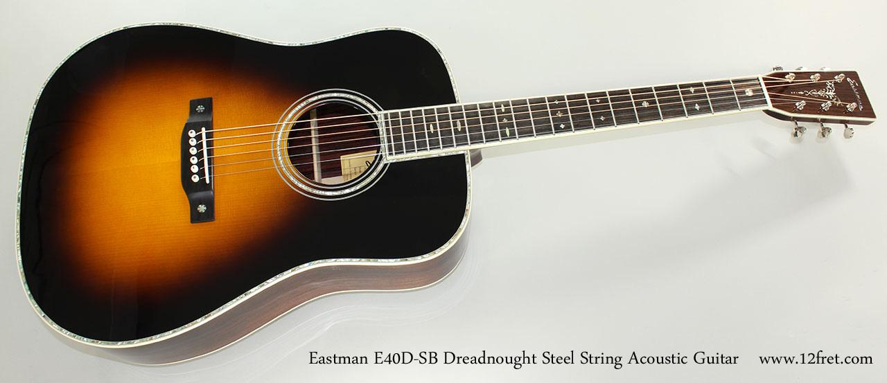new eastman acoustic guitars for sale steel string. Black Bedroom Furniture Sets. Home Design Ideas
