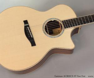 Eastman AC822CE-FF Fan Fret Guitar