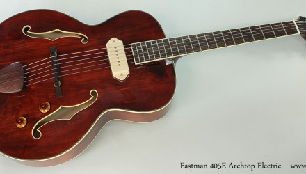 Eastman-405E-Archtop-Electric-Full-Front-View