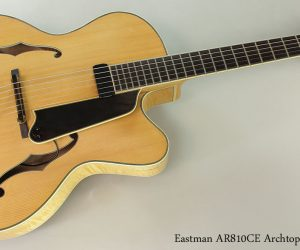 2005 Eastman AR810CE Archtop  SOLD