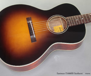 Eastman E1000SS Sunburst Steel String