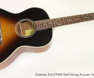Eastman E10-OOSS Steel String Acoustic Sunburst, 2015