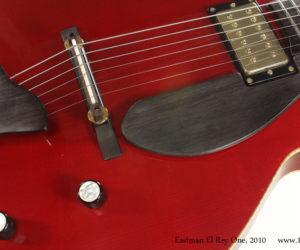 Cherry Red 2010 Eastman El Rey One (consignment) SOLD