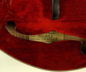 Eastman MD-615E F-Style Mandolin