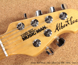 1999 Ernie Ball Music Man Albert Lee Black SSS No Longer Available