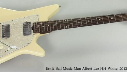 Ernie-Ball-Music-Man-Albert-Lee-HH-White-2012-Full-Front-View