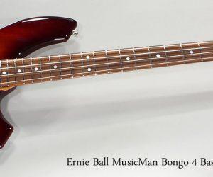 SOLD!!! 2012 Ernie Ball MusicMan Bongo 4 Bass Sunburst