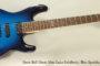 NO LONGER AVAILABLE! 2007 Ernie Ball Music Man Luke Solidbody, Blue Sparkle