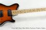 SOLD!!! 2016 Ernie Ball Music Man Reflex Sunburst Electric Guitar
