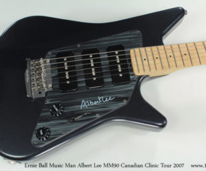 Ernie Ball Music Man Albert Lee MM90 Canadian Clinic Tour 2007 (consignment) SOLD