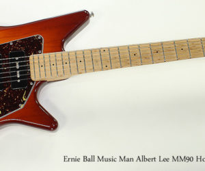 ❌SOLD❌ 2007 Ernie Ball Music Man Albert Lee MM90 Honeyburst