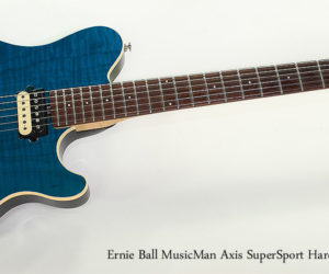SOLD!!! 2002 Ernie Ball MusicMan Axis Super Sport Hardtail Teal