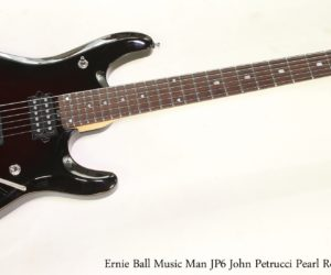 SOLD!!! Ernie Ball Music Man JP6 John Petrucci Pearl Redburst, 2014