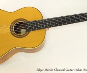 ❌SOLD❌ Edgar Monch Classical Guitar, 1967