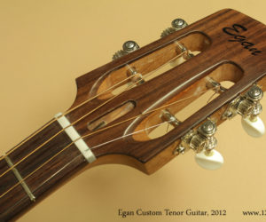 2012 Egan Custom Tenor Guitar SOLD