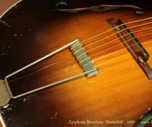 Epiphone Broadway Masterbilt, 1932 (Consignment) SOLD